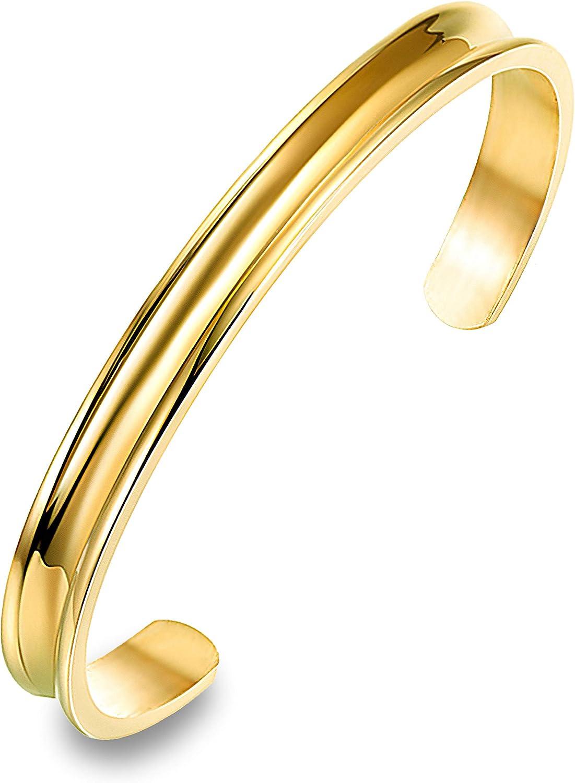 farbig Größe variabel NEU Armband Armreif 1,5 cm breit Metall Armspange silber