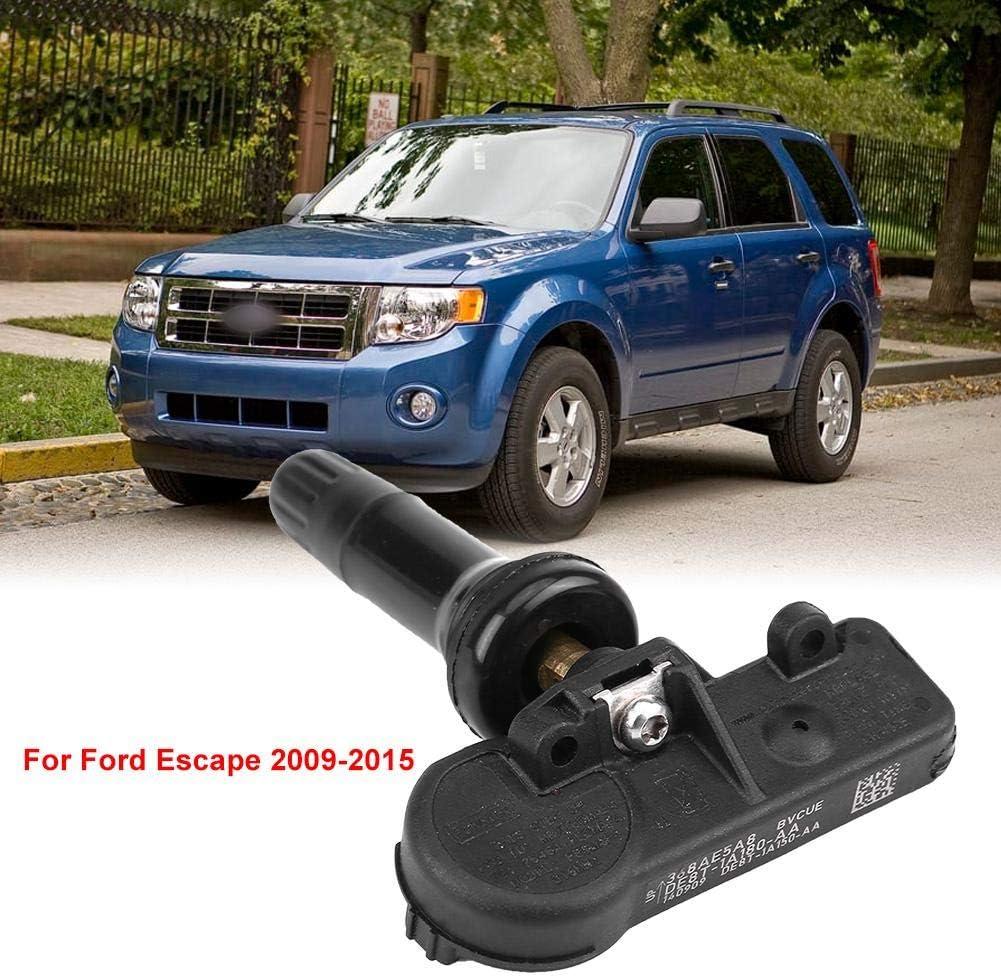 Aramox TPMS Sensor 4 pcs Car Tyre Pressure Monitoring Sensor Tire Pressure Sensor for Escape Focus Mustang DE8T-1A180-AA 9L3T-1A180-AF