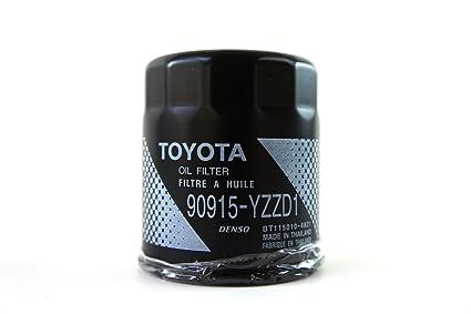 amazon com toyota genuine parts 90915yzzd1 oil filter automotive