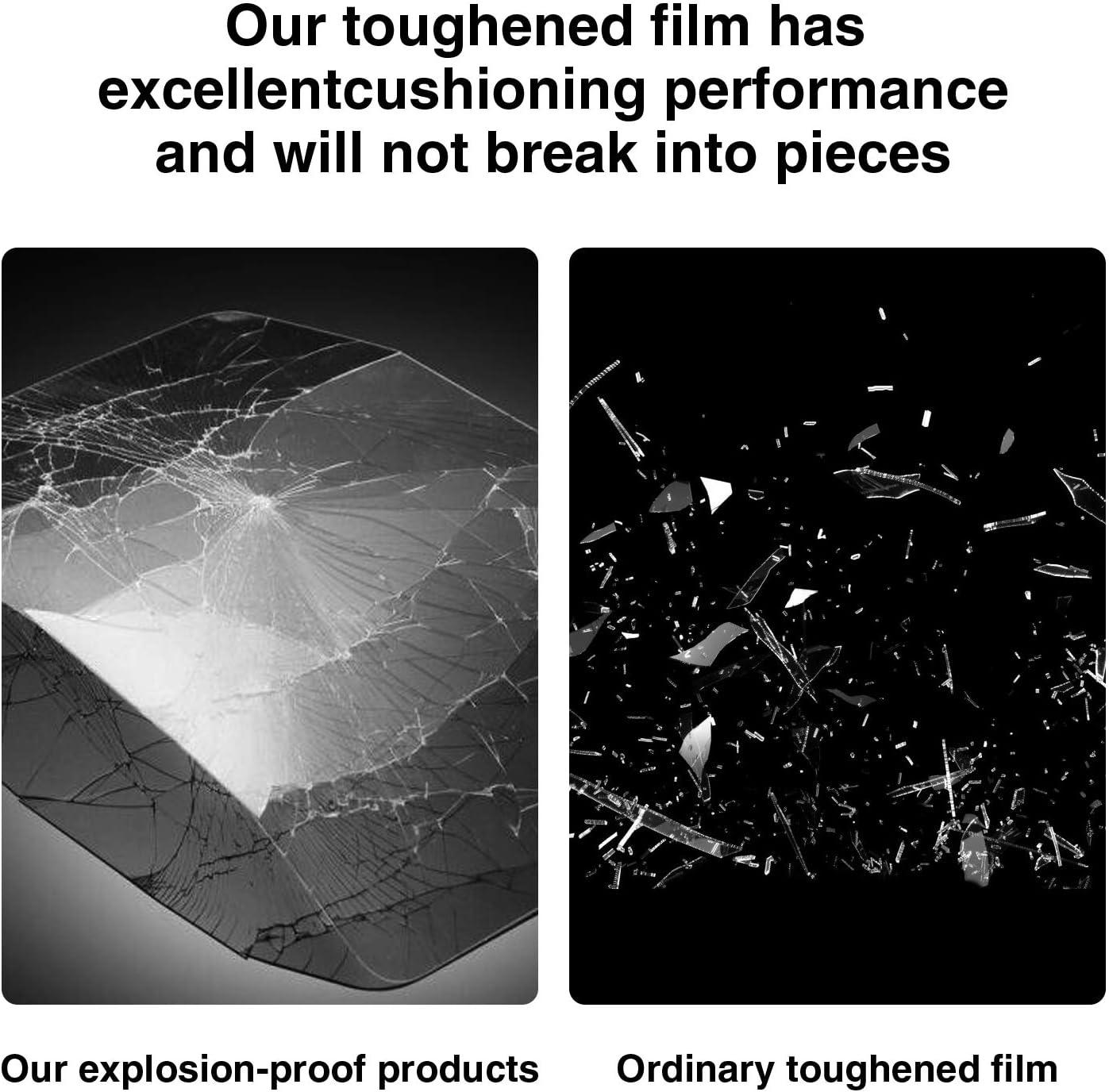 Edge 1000 Lot de 2 Films de Protection d/écran en Verre tremp/é 9H Anti-Rayures Installation sans Bulles