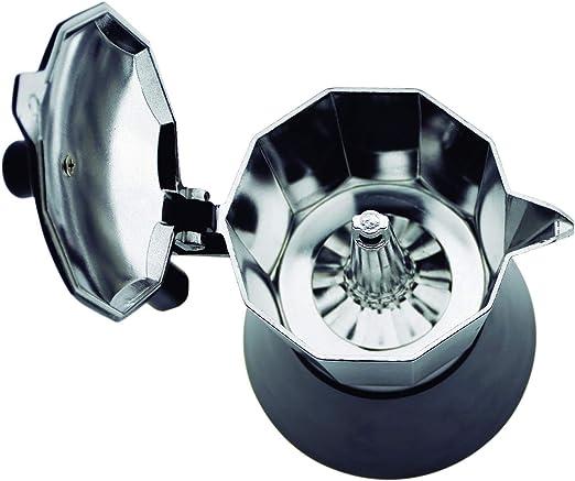 Jata Hogar Cafetera Italiana Full Induction, Aluminio, Negro, 14.5 ...