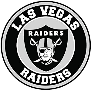 Retro Collection Metal Tin sign Round-Las Vegas Raiders-Wall decoration 30cm diameter poster home bar restaurant garage cafe art metal sign gift