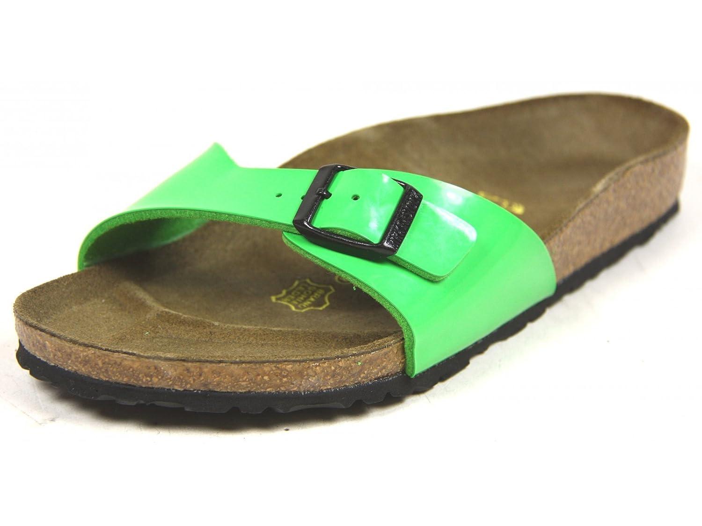 Birkenstock - Sandalias de material sintético mujer 36 EU|Classic Vert