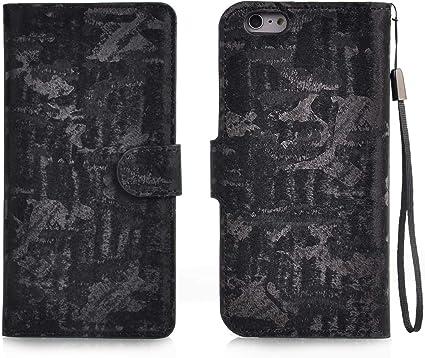 Totoose iPhone 6 Plus iPhone 6s Plus Estuche, Billetera de Cuero Diseño de Libro con Tapa y Soporte [Ranura para Tarjeta] Cubrir Elegante Estuche para iPhone 6 Plus iPhone 6s Plus: Amazon.es: