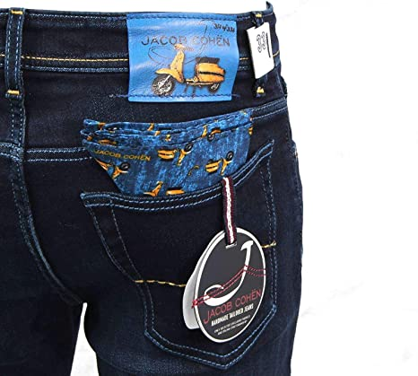 Jacob Cohen J688LAMBRETTACOMF002 Jeans Hombre Pantalones ...