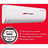 Minisplit Aire Acondicionado Mirage Life+ Frio y Calor 220v 1ton, R410a, 12,000 btus