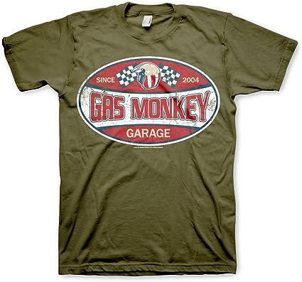 Oficialmente Licenciado GMG Since 2004 Label Hombre Camiseta (Verde Oliva): Amazon.es: Ropa y accesorios