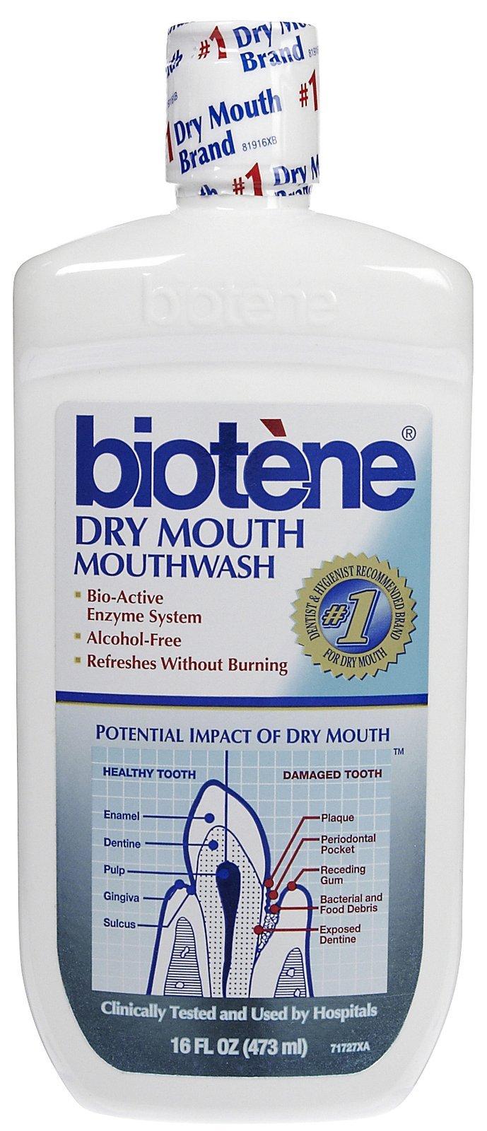 Biotene Dry Mouth Mouthwash 16 oz (Pack of 10)