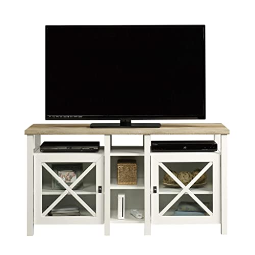 Sauder Cottage Road Entertainment Credenza, For TVs up to 50 , Soft White finish