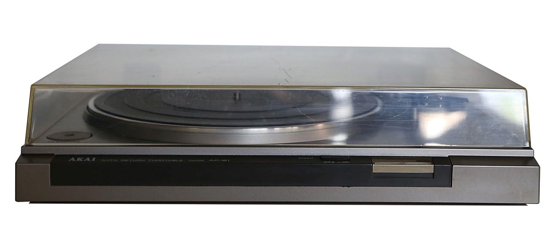 Akai Ap-B1 - Tocadiscos, Color Plateado: Amazon.es: Electrónica