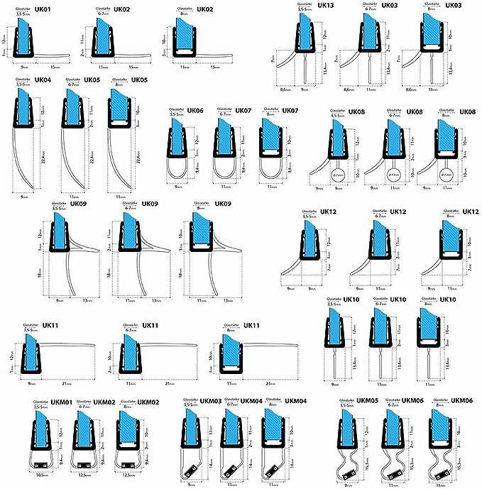 STEIGNER 80 cm Umbral de Acrílico de la Cabina de Ducha – SDD03 Altura 10 mm – Semicircular de Umbral Protección Contra la Fuga del Agua: Amazon.es: Bricolaje y herramientas