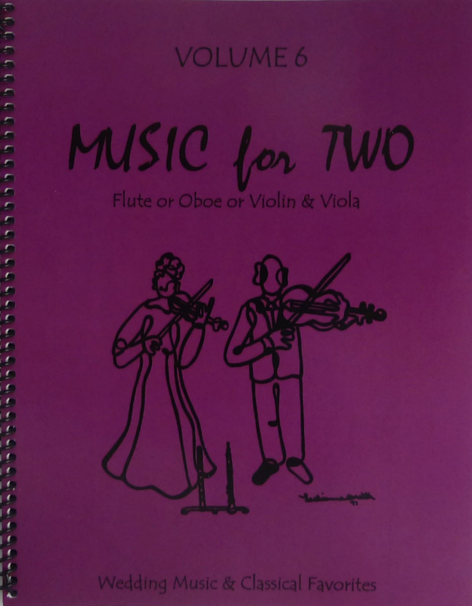 Music for Two, Volume 6 for Flute or Oboe or Violin & Viola