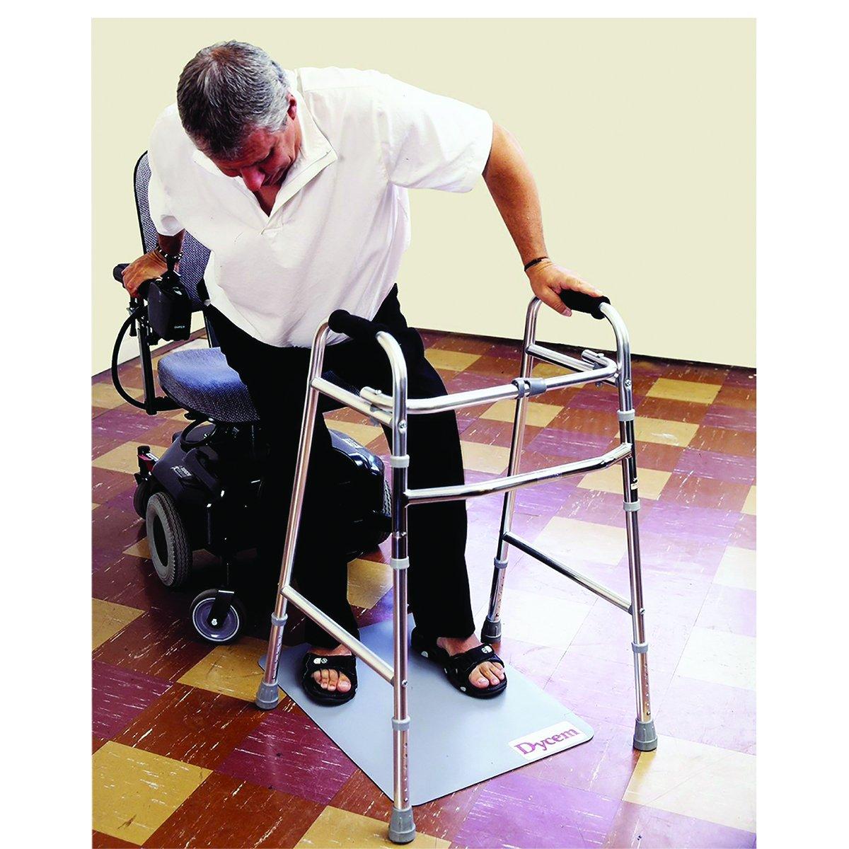 Dycem 50-1641B Non-Slip Safety Floor mat, 18 x 24, Blue 18 x 24 Fabrication Enterprises