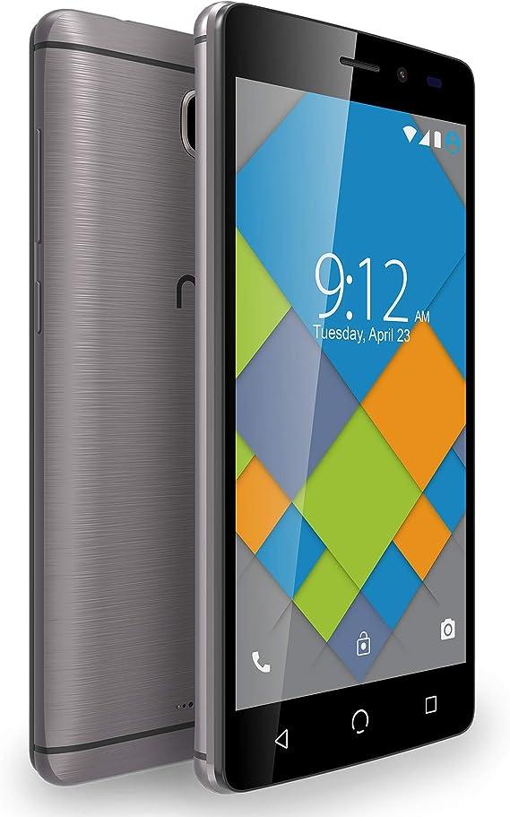 NUU Mobile A4L+, memoria de 16GB, 4G dual SIM, Android con cámara de 5MP, versión EU (gris): Amazon.es: Electrónica