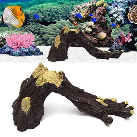 Paleo Acuario pecera raíz madera flotante decoración del acuario tronco