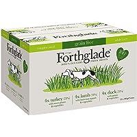 Forthglade - Comida Completa para Mascotas (100% Grano Natural, 395 g, 12 Unidades)