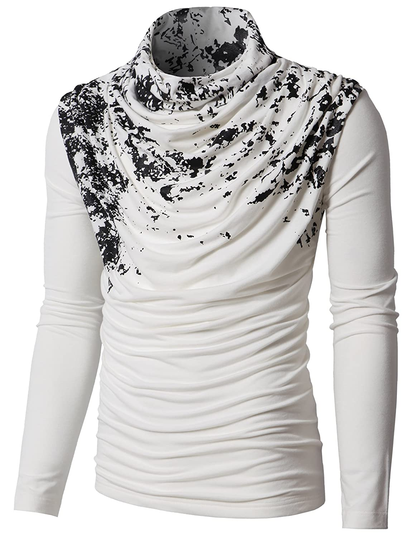 Amazon.com: H2H, suéter pullover a la moda, cuello ...
