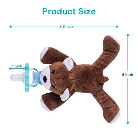 Amazon.com: Soporte para chupete de bebé, desmontable ...