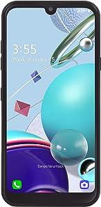 TracFone LG K31 Rebel 4G LTE Prepaid Smartphone (Locked) - Black - 32GB - Sim Card Included - CDMA