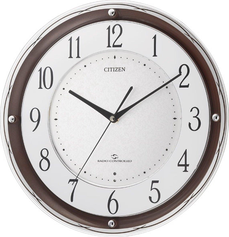 シチズン 高感度 電波 掛け時計 アナログ スリーウェイブM805 CITIZEN 4MY805-006 B003BLQ3JC