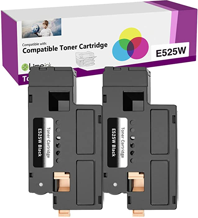 The Best Black Toner Dell E525w