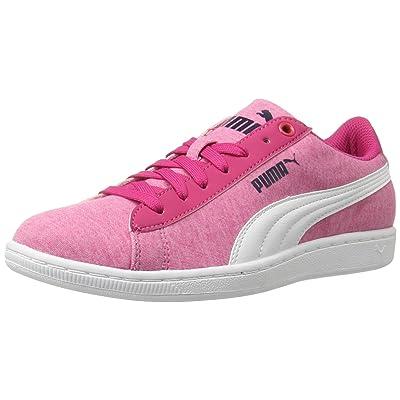 PUMA Women's Vikky Jersey Sfoam Fashion Sneaker, Beetroot Purple, 6 M US   Fashion Sneakers