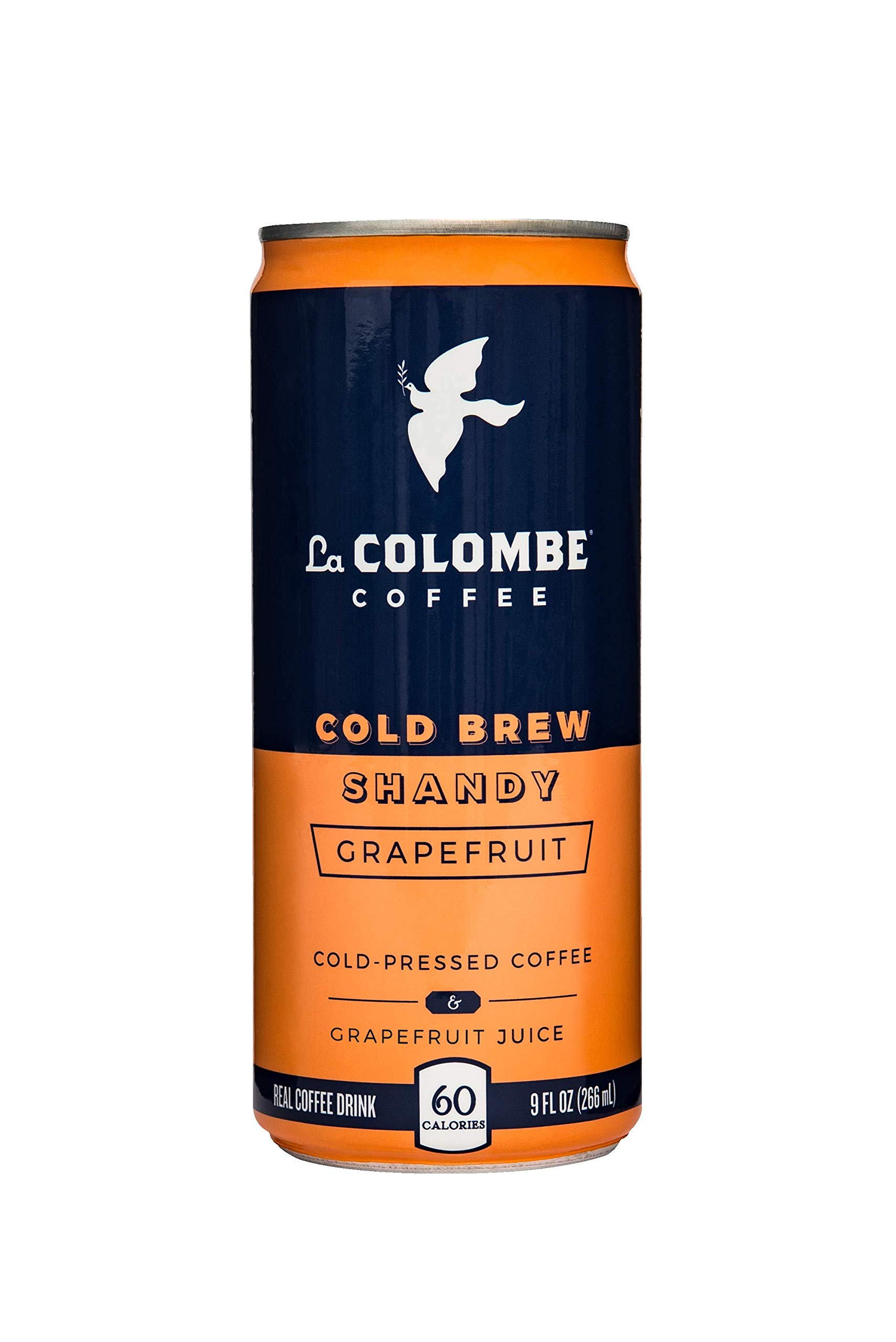 La Colombe Grapefruit Shandy - 9 Fluid Ounce, 16 Pack - Cold-Pressed Espresso and Grapefruit Juice - Made With Real Ingredients - Grab and Go Coffee
