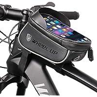 Torba na ramę roweru z otworem na słuchawki, wodoszczelna torba rowerowa, torba na ramę roweru z ekranem dotykowym TPU…