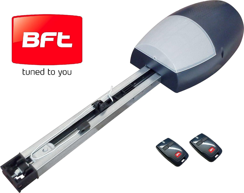 Motor para Puertas de Garaje BOTTICELLI 800Nm, incluye DOS mandos a distancia MITTO BFT, de dos canales, el motor PROFESIONAL que tu necesitas.: Amazon.es: Bricolaje y herramientas