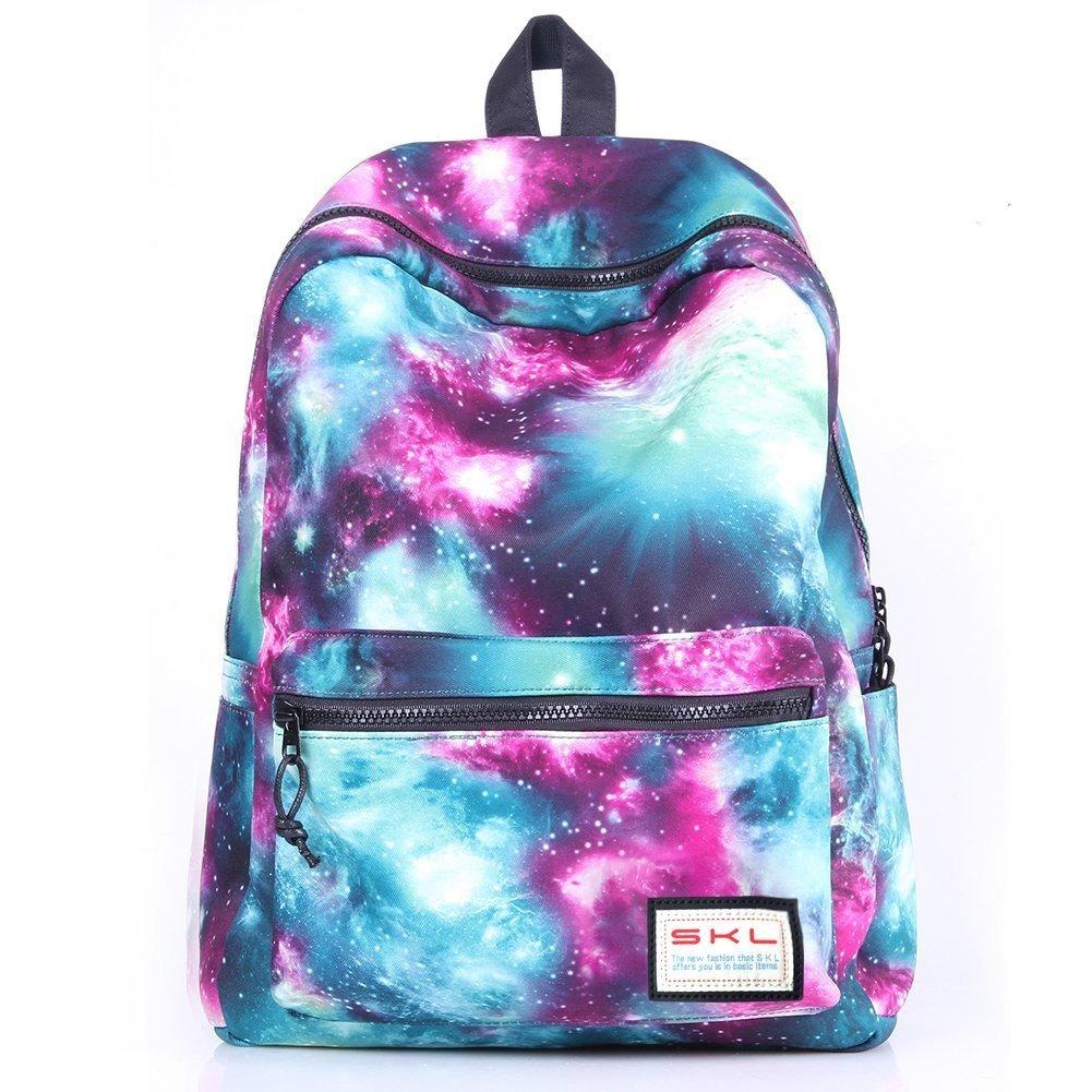 School Backpack,Cool Unisex Canvas Backpack Anime Luminous Backpack Daypack Shoulder School Bag Laptop Bag CB-0829