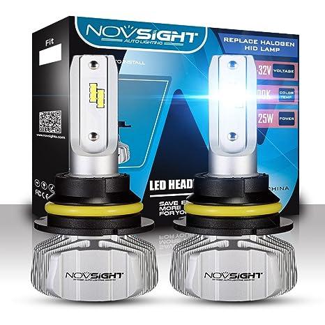 H1 H4 H7 H11 H13 LED Kit de conversión de bombillas para faros delanteros de coche
