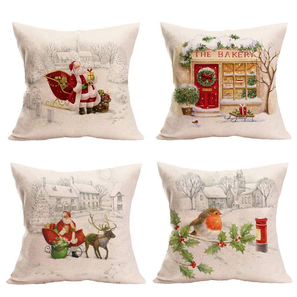 Xmas Holiday Decor Pillowcase (Christmas Set