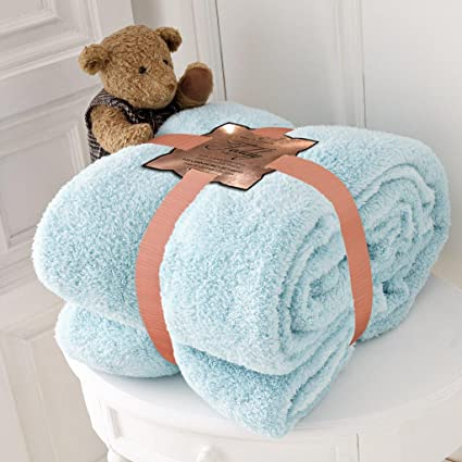 Afghans & Throw Blankets Bedding Teddy Bear Luxurious Throws Super Soft Warm Cosy Sofa And Bed Fleece Blankets Gc