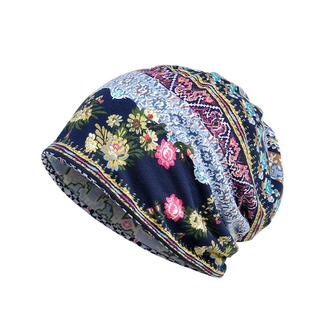 Damen Mütze, Beikoard Mode Damen Warm Hut Winter Skull Beanies Gestrickte Hüte Kappen Strickmützen (Beige) Damen Mütze