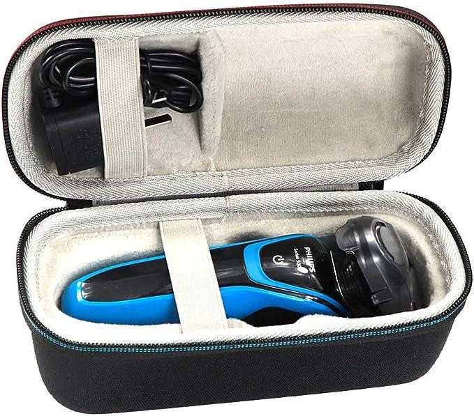 Caja de almacenamiento profesional para afeitadora y afeitadora de la marca Analysisty, bolsa recargable para afeitadora de barba, bolsa a prueba de golpes para poner el cargador en el salón del hogar: