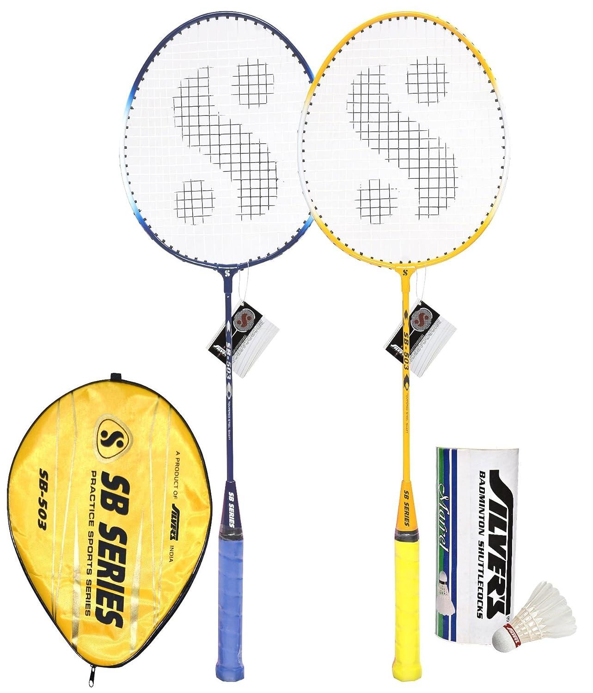 6. Silver's SB 503 Badminton Racquet Combo