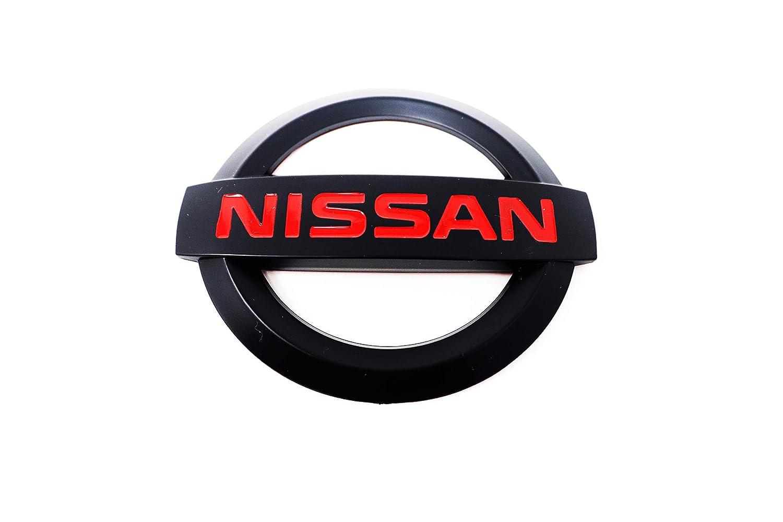 NISSAN 350 Z MATTE BLACK 113mm x 95mm LOGO 3M Letters Emblem ...