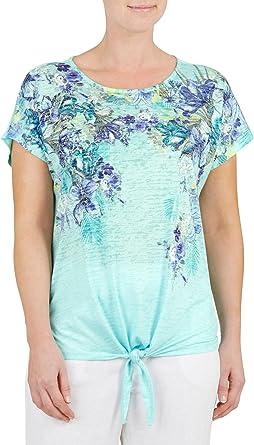 Bonmarche - Camiseta - Camiseta - para mujer verde agua 38 ...