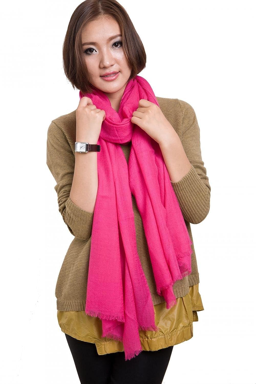 "Women Wool Scarf Large 86"" x 35"" Pashmina Muffler Soft Fashion Shawl Scarves"