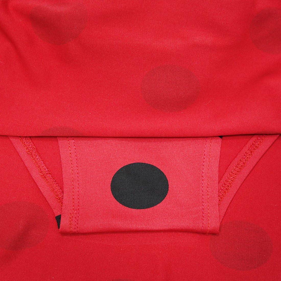 ZHBNN Ladybug Girls Cartoon Two-Piece Swimwear Bathing Suit