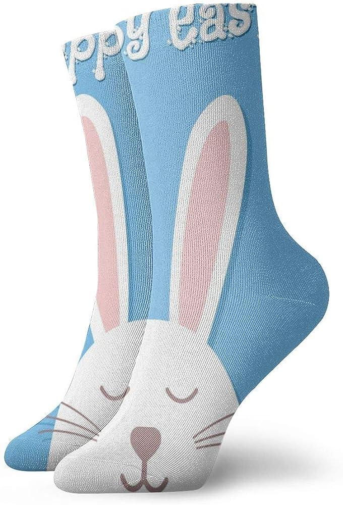ASS Pack de calcetines de vestir unisex Happy Easter Funny ...