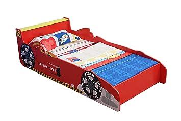 Mcc® Cama del niñito de los niños, coche de carreras forma ...