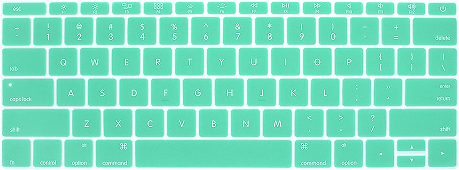 Compatible for Laptop Keyboard Cover Compatible for MacBook 12 Keyboard Stickers Pro 13 Compatible for Laptop Accessories A1534 A1931 A1708 A 1988 Compatible for Mac Skin