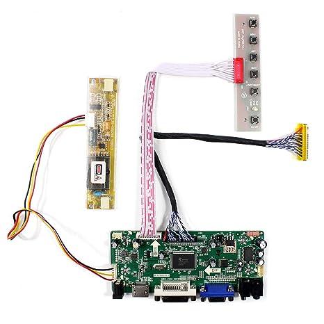 Amazon com: HDMI DVI VGA Audio LCD Controller Board Work for