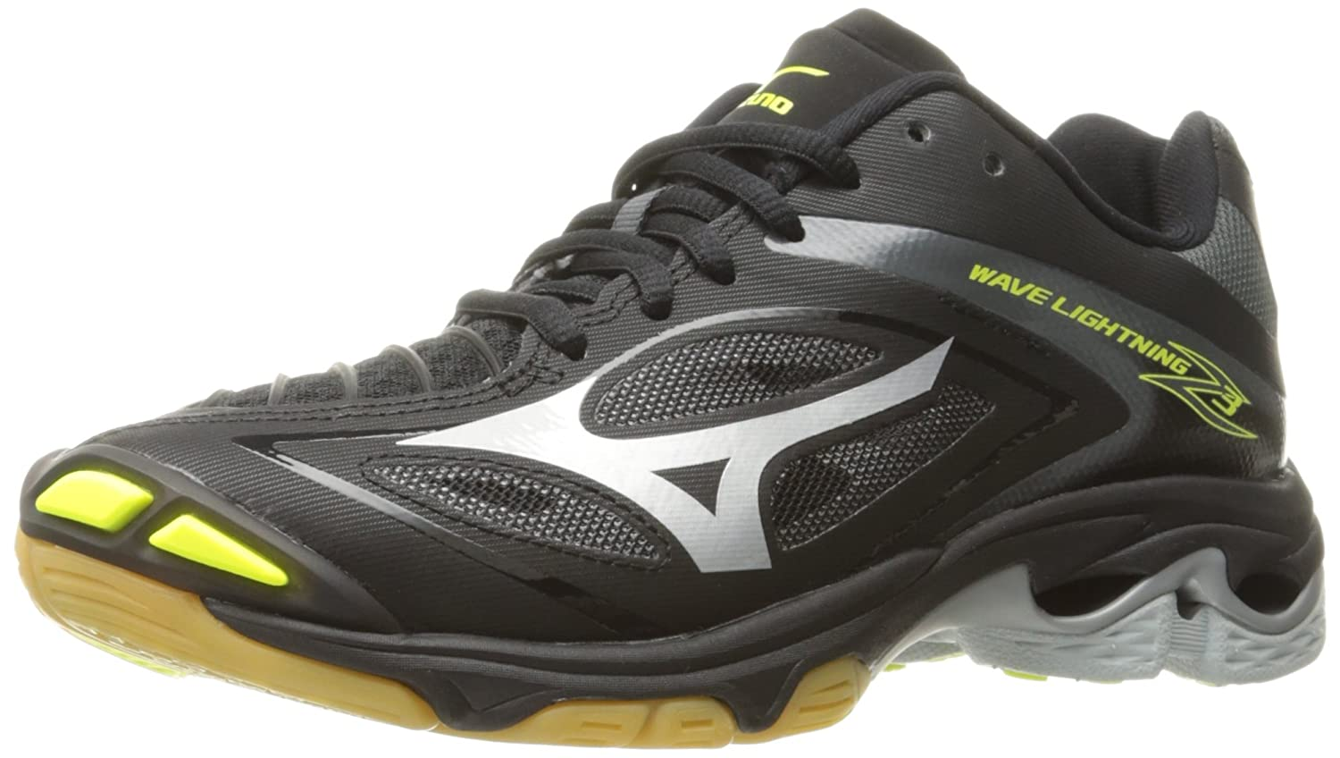 Mizuno Women's Wave Lightning Z3 Volleyball Shoe B01N1FO0VO 9.5 B(M) US|Black/Silver