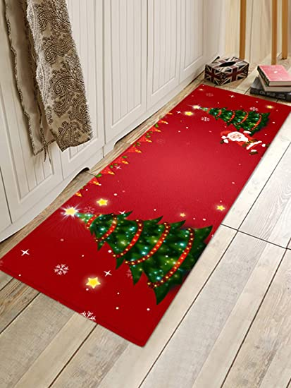 Amazon Com Wshine 15 7 47 2 Red Mini Christmas Tree Floor