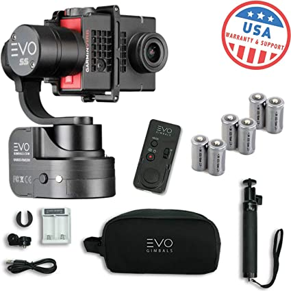 Amazon com : EVO SS 3 Axis Wearable Gimbal - Stabilizer for