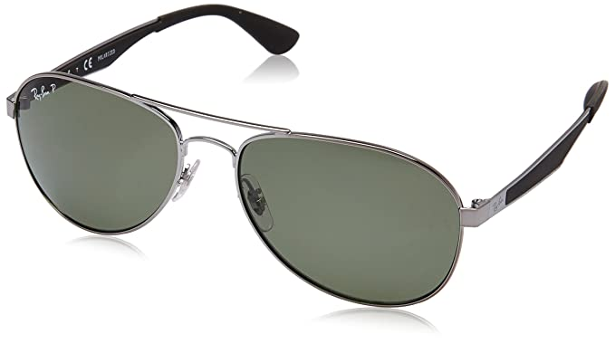 1a2d2eee2f5 Ray-Ban Polarized Aviator Men s Sunglasses - (0RB3549004 9A58