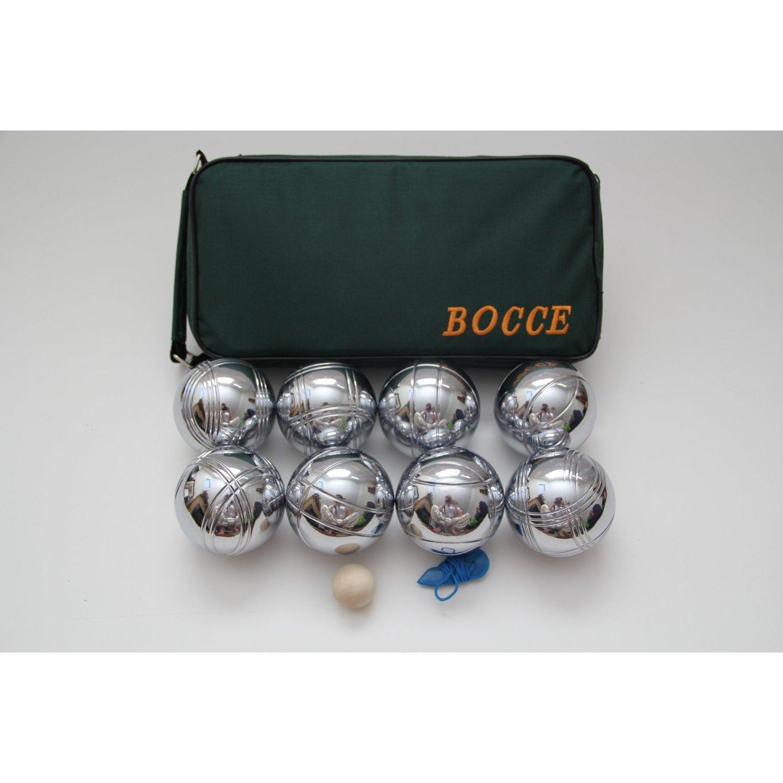 8ボール73 mmメタルボッチェ/ Petanque Set withグリーンバッグ – Single by buybocceballs   B00539Z20G