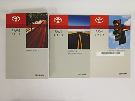 amazon com 2013 toyota rav4 owners manual toyota car electronics rh amazon com toyota rav4 2013 owners manual pdf 2007 Toyota RAV4